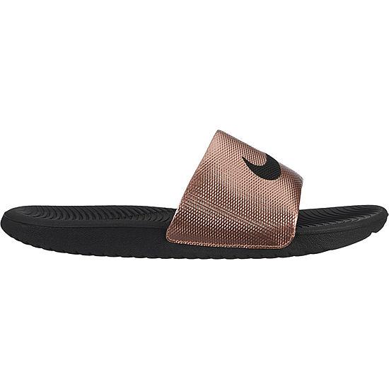 f20ad229cd34 Nike Kawa Solarsoft Womens Slide Sandals JCPenney
