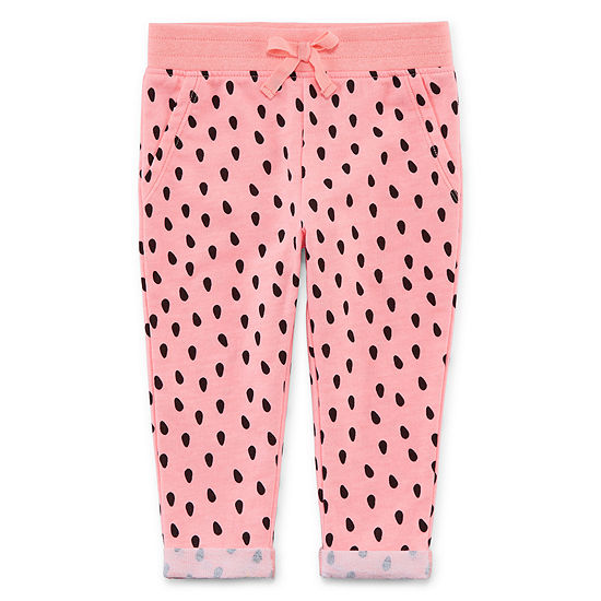 Okie Dokie Jogger Girls Straight Jogger Pant - Baby