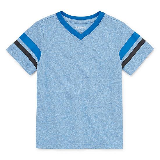 Okie Dokie Boys V Neck Short Sleeve T-Shirt-Toddler