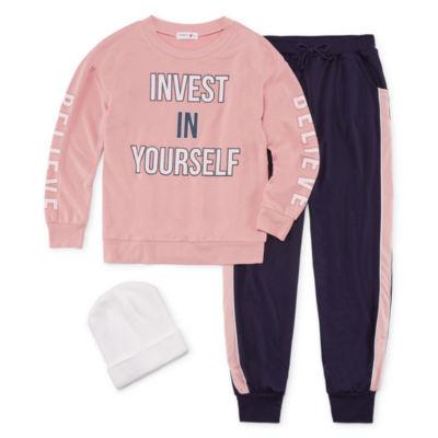 Knit Works 2-pc. Pant Set Big Kid Girls