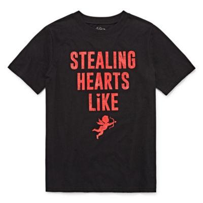 City Streets Boys Crew Neck Short Sleeve T-Shirt