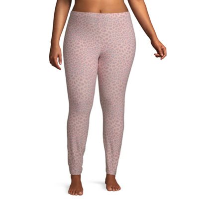 Flirtitude Womens Mid Rise Legging-Juniors Plus