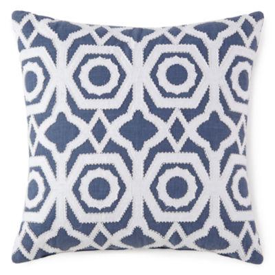 Liz Claiborne Melbourne Square Throw Pillow