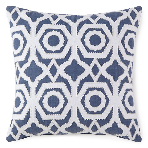 Liz Claiborne Melbourne Square Throw Pillow