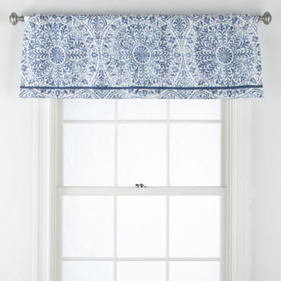 Liz Claiborne Melbourne Rod-Pocket Tailored Valance