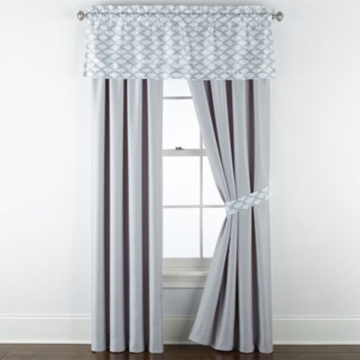 JCPenney Home Reverie Back-Tab Curtain Panel