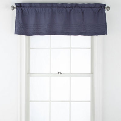 JCPenney Home Egan Rod-Pocket Tailored Valance