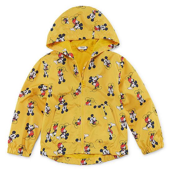 09a9d4706cb Disney Boys Mickey Mouse Hooded Lightweight Raincoat Preschool   Big Kid -  JCPenney