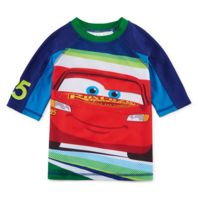Disney Boys Cars Rash Guard