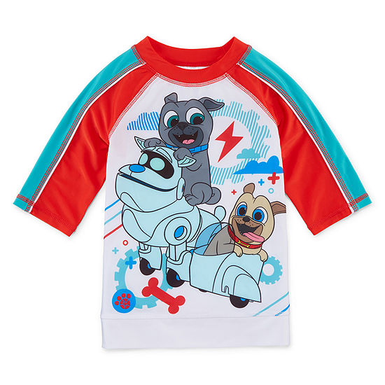 Disney Puppy Dog Pals Boys Rash Guard
