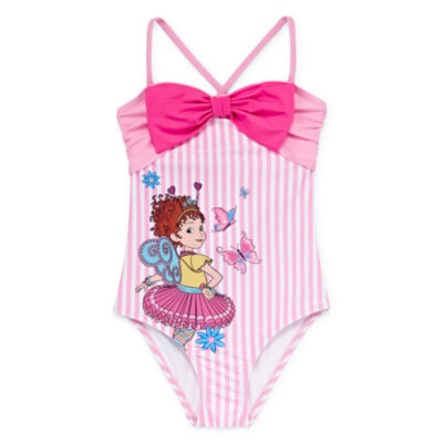 Disney Fancy Nancy One Piece Swimsuit Girls