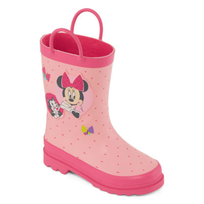 Disney Little Kids-Girls Minnie Mouse Rain Boots