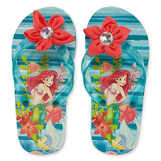 Disney The Little Mermaid Flip-Flops