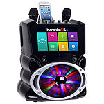 "Complete Wi-Fi Bluetooth Karaoke Machine with 9"" Touch Screen, Recording and Bluetooth Speaker"