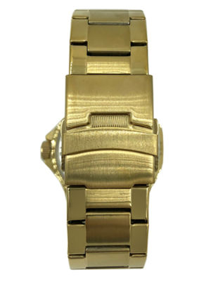 Peugeot Mens Gold Tone Bracelet Watch-1023gbk