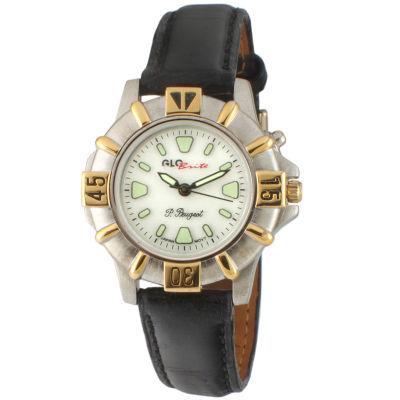 Peugeot Womens Black Strap Watch-544-2