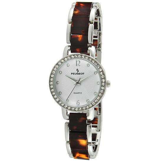 Peugeot Womens Two Tone Bracelet Watch-7083br