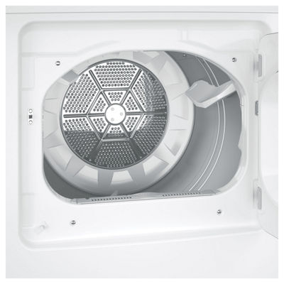 GE® 7.2 cu. ft. Aluminized-Alloy Drum Electric Dryer