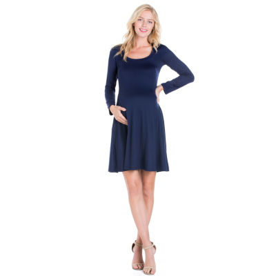 24/7 Long Sleeve Dress - Maternity