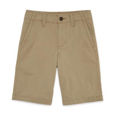 Arizona Chino Shorts Boys 4-20, Slim & Husky