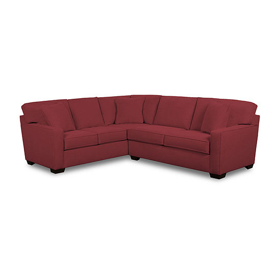 Fabric Possibilities Track Arm 2-Piece Left Arm Facing Sofa Sectional