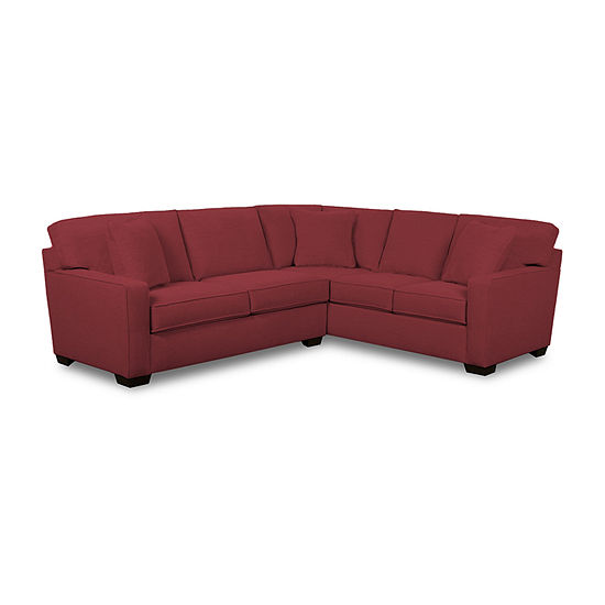 Fabric Possibilities Track Arm 2-Piece Right Arm Facing Sofa Sectional