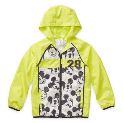 Disney Collection Little & Big Boys Mickey Mouse Lightweight Raincoat