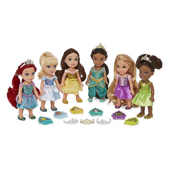Disney Collection 6-Pc. Princess Doll Set