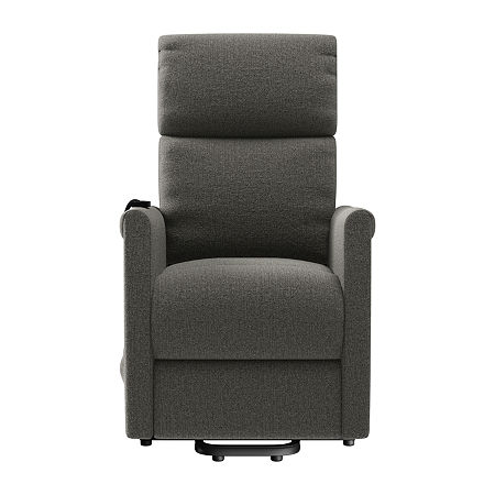 Petite Recliner Lift Track-Arm Recliner, One Size , Gray