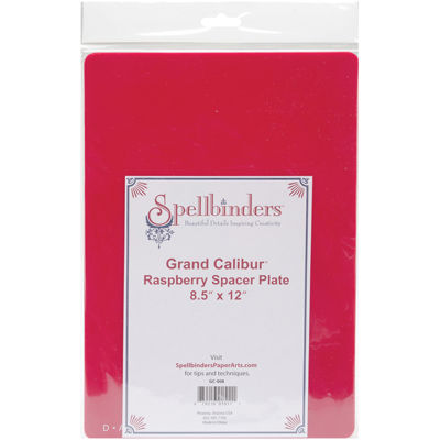 "Spellbinders™ Grand Calibur™ Raspberry Spacer Plate 8.5""x12"