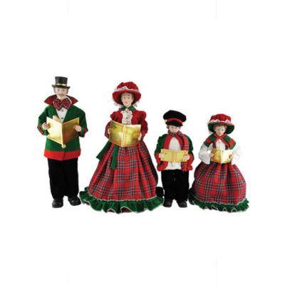 """15""""-18"""" Christmas Day Carolers- Set of 4"""""""