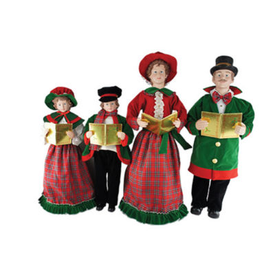 "27""-37"" Christmas Day Carolers- Set of 4"""