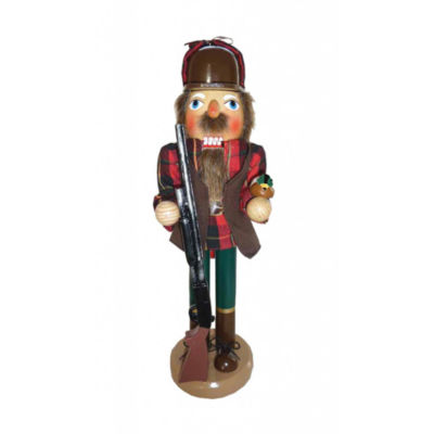 "14"" Duck Hunter Nutcracker"