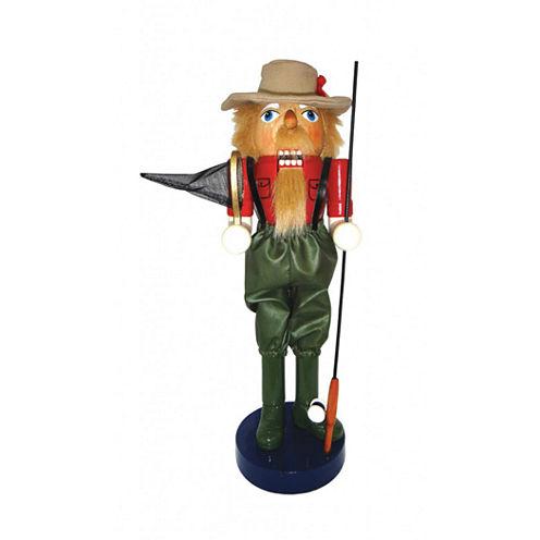 "14"" Fly Fishing Nutcracker"