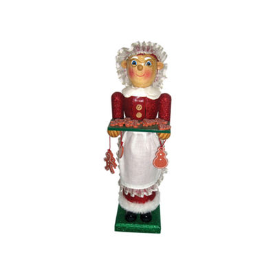 "14"" Mrs. Claus Nutcracker"