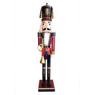 "60"" Royal Bugler Nutcracker"