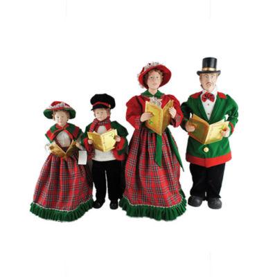 """20""""-27"""" Christmas Day Carolers- Set of 4"""""""