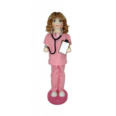"14"" Nurse Nutcracker"