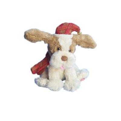 """12"""" Animated Christmas Dog"""