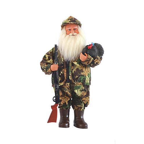 """15"""" Turkey Hunter Santa"""