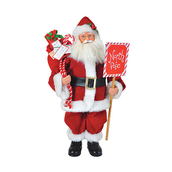 "15"" North Pole Santa"
