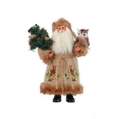 "15"" Night Watchman Santa"