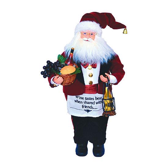 """18"""" Wine Steward Santa"""