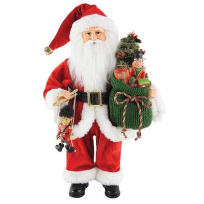 "15"" Bag Full Of Toys Santa"