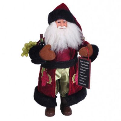 "15"" Wine Santa"