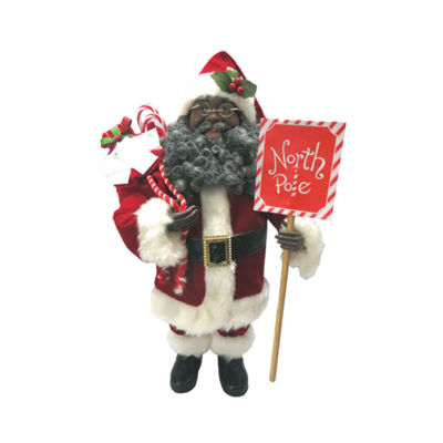 "15"" North Pole Santa"