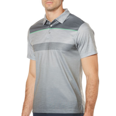 PGA Tour Short Sleeve Ombre Polo Shirt