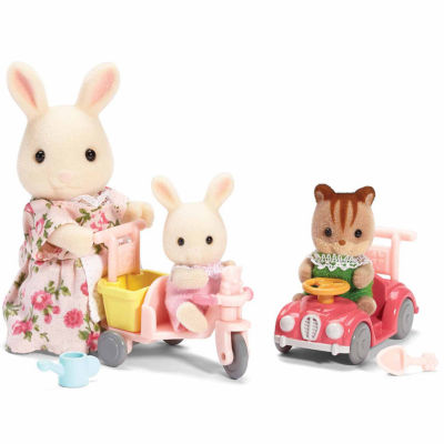 Calico Critters of Cloverleaf Corners Apple and Jake's Ride 'n Play