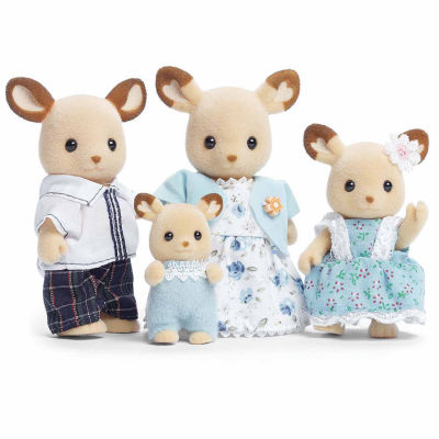Calico Critters of Cloverleaf Corners Buckley DeerFamily