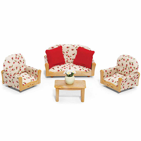 Calico Critters of Cloverleaf Corners Living Room Suite